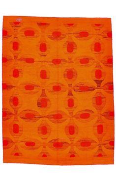 Rugs USA Kathmandu Collection Caden Bright Red Rug