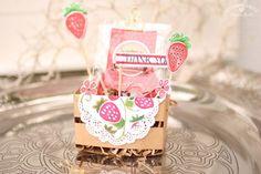 Erdbeerkorb - Stampin'Up! mit stempelherz