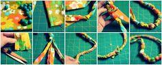 a bit of sunshine: make something monday :: teething necklace
