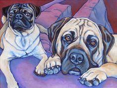 12 x 16 Custom Pet Portrait Painting in by bethanysalisbury, $230.00