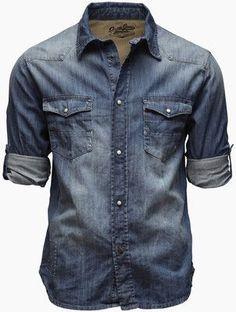 8783ad951 Designer shirts for Women   SSENSE. Botão JeansAbotoar CamisasHomens Na Moda  ...