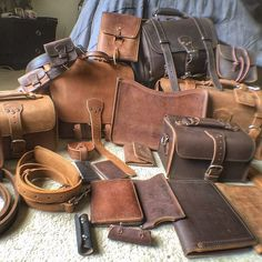 """1,053 aprecieri, 33 comentarii - Saddleback Leather Co. (@saddlebackbags) pe Instagram: """"You can't have too much leather ...or can you? No, no you can't. Thanks for standing up for what is…"""""""