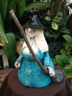 Connie The Witch in Blue by Connie Creatures.