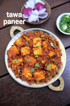 tawa paneer recipe, paneer tawa masala, paneer tawa fry with step by step photo/video. interesting paneer dry curry made on tawa with pav bhaji masala. Indian Veg Recipes, Indian Dessert Recipes, Chaat Recipe, Masala Recipe, Masala Pav Recipe Video, Spicy Recipes, Curry Recipes, Simple Food Recipes, Kitchen Recipes