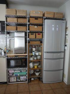 French Door Refrigerator, French Doors, Liquor Cabinet, Kitchen Appliances, Storage, Furniture, Home Decor, Kitchen, Shelves