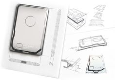 Seagate Seven - The world's thinnest 500 GB portable drive