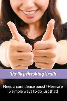 From small talk to exercise, we break down 5 simple ways to boost your confidence in our RepHreshing Truth blog.