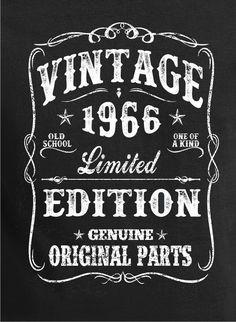 50th Birthday Gift Shirt Turning 50 50 Years Old by BluYeti: