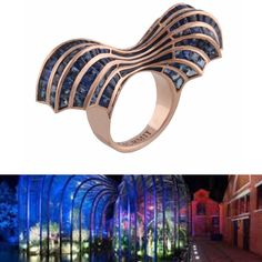 "My newest ring ""Thomas Heatherwick"". Inspired by the insanely talented and humbled artist Thomas Heatherwick ."