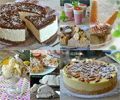 Dolci senza cottura ,tante idee fresche; torte,gelati,semifreddi, crostate e sbriciolate tutti dolci golosi e senza cottura!