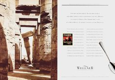 Read more: https://www.luerzersarchive.com/en/magazine/print-detail/5756.html For the sophistaced Egypt traveler of the 20s there were basically just two hotels in Cairo: the Stepheard´s and the Mena House. In both one dined with Wellner cutlery. Tags: Marie-Luise Dorst,Stefan Oevermann,Karl Armer,Wellner,Euro RSCG, Munchen