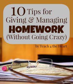 How to Manage Homewo
