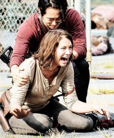 """TWD... She wasn't exactly acting like she has a sister anyway... She was all """"Glen... Glen... Glen... Glen... Glen... Yeah right I have a sister... What's her name again?"""""""