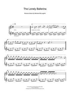 Michele McLaughlin: The Lonely Ballerina - Partition Piano Solo - Plus de 70.000 partitions à imprimer !
