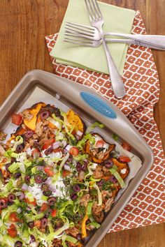 Make these squash nachos with a homemade tzatziki and either ground turkey or lamb for a yummy twist on a classic dish.