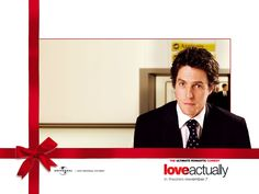 Hugh Grant ~ Love Actually ~ Wallpaper ~ Love Actually 2003, Love Actually Quotes, All You Need Is Love, Hugh Grant, London Christmas, Christmas Movies, Amor Real, Laura Linney, Hd Love