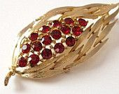 Red & Gold for the 49ers VJSE Treasury NOW on Etsy #vjse2 #vintage #jewelry #boebot