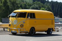 This VW Transporter T1 would make a good sleigh replacement if Rudolph doesn't pull through this year.
