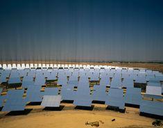 Stuart Franklin SPAIN. Seville. Solar thermal power plant. 2007. Stuart Franklin, Seville, Solar, Spain, Plants, Sevilla, Plant, Spanish, Planting