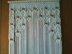Curtains on pinterest macrame macrame curtain and door curtains