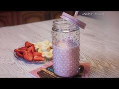 Smoothie de Fresa y Plátano · Receta Batido de Fresa - YouTube