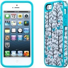 Speck - FabShell for iPhone 5 - Birds Blue (875912019682) FabShell wraps fashion and protection into one chic case. With patterns and colors aplenty, this case gives your iPhone more than a little haute couture.
