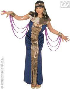 Nefertiti With Dress W/Veils, Wristbands, Collar..
