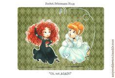 "Post with 255768 views. Disney's ""Pocket Princesses"" (A Funny Comic by Amy Mebberson) Disney Pixar, Disney Memes, Disney And Dreamworks, Disney Magic, Walt Disney, Disney Characters, Disney Quotes, Chibi Disney, Disney Cast"