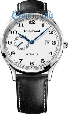 Мужские швейцарские механические наручные часы Louis Erard L66226AA01
