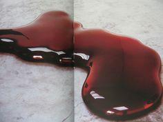 efedra: Blood, 2000 by Anish Kapoor