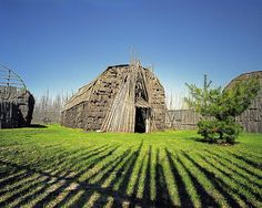 Long House of the Mohawk Tribe, Canada