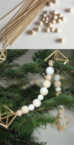 Decoración de navidad himmeli Merry Christmas, Xmas, Christmas Decorations, Table Decorations, Diy Crafts, Wood, Diy Ideas, Diy Projects, Tv