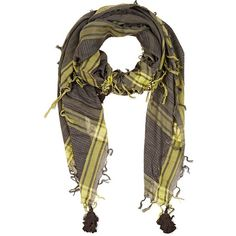 Zadig et Voltaire Women's Kaffiyeh-Inspired Gauze Oversized Scarf (390 RON) ❤ liked on Polyvore featuring accessories, scarves, woven scarves, oversized scarves, fringe shawl, oversized shawl and print scarves