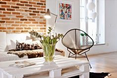 A clean white look, house interior Decor, Furniture, Home Living Room, Loft Living, Interior, Eclectic Interior, House Interior, Home Deco, Home And Living