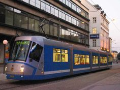 Wrocławski tramwaj, ul. Szewska, przystanek przy Kameleonie Train Light, Light Rail, Poland, Street, City, World, Places, Cities, The World