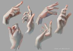 Pin by willemijntje on art - anatomy : hands 3 in 2018 pinte Wave Drawing, Body Drawing, Drawing Hair, Gesture Drawing, Anatomy Drawing, Drawing Faces, Figure Drawing, Hand Drawing Reference, Art Reference Poses