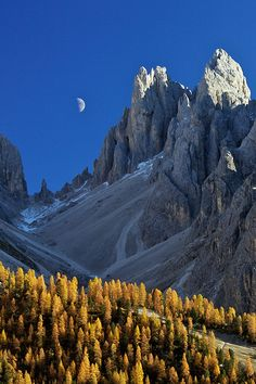 Dolomites, Italy | Been here. Loved it,  stunning in the spring snow in May ♥