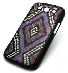 Amazon.com: BLACK/Tribal Samsung Galaxy S3 SIII i9300 Snap On Case