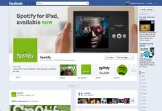 Spotify is now one of the biggest music streamers available. Now they are heavily intertwined with Facebook. When signing up to spottily they allow you to just use your Facebook login details to make the process easier. Spotify have a Facebook app which allows you to see what your friends are listening to which appears on your newsfeed as well as telling people what you are listening to. Spotify also use this page to advertise any promotions they have on. http://www.tuberads.com