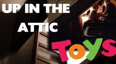 TOYS In The Attic!  Garbage TRUCK, Trash TRUCK, Cement Mixer TRUCK! l Fo...