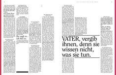 www.bibelalsmagazin.de / Lesbares, aufgeräumtes Design. Das Neue Testament als Magazin / Einheitsübersetzung / Bibel / Design / bible Super geeignet als Geschenk €9,20