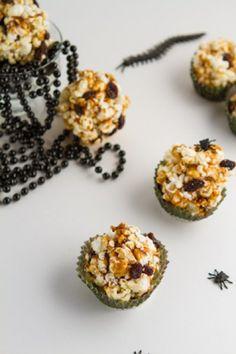 Vegan Caramel Popcorn Ant Hills #vegan #healthybaking Healthful Pursuit   Healthful Pursuit