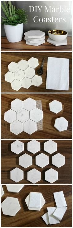 I have been meaning to do this project for a while now. I have loved these hexagon marble tiles since I saw them on The Block last year. Now…