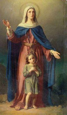 Santos, Beatos, Veneráveis e Servos de Deus: SANTA JULITA E SÃO CIRO, mãe e filho, mártires.
