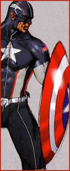 iamalfff:    Secret War Captain America - Gabriele Dell'Otto