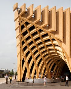 French Pavilion at Milan Expo 2015   XTU architects Images by   Andrea Bosio