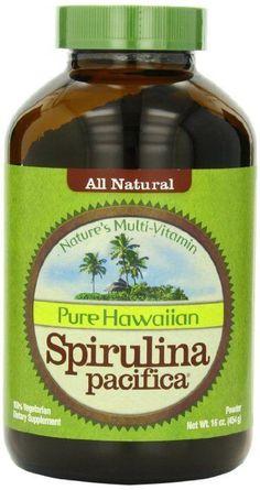 Nutrex Hawaii Hawaiian Spirulina Pacifica Powder, 16-Ounce Bottle New(FREE SHIP) #Nutrex