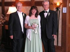 Tom,Deb, and Dave Nickel