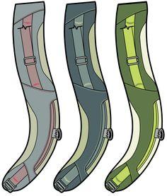 Wookey Design Studio | Technical Backpacks, Shoulder Strap Color Design