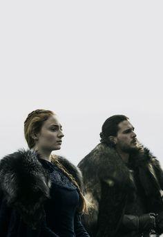 "Sophie Turner & Kit Harington - Game of Thrones 6.09 - ""Battle of the Bastards"""